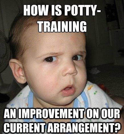 potty training fail
